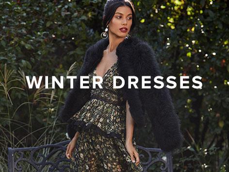 Winter Dresses. Shop The Edit.Image Description