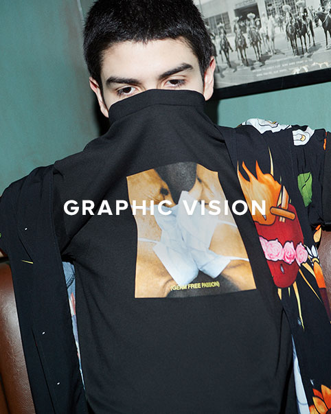 Graphic Vision. The latest graphics from Off-White, Pleasures, Rhude + MORE