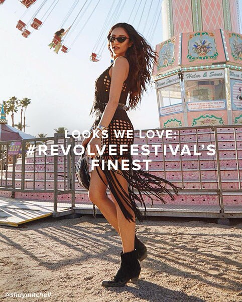 f9ec65c7808e looks we love  revolve festival  s finest. Major looks worn by your Shop the  edit