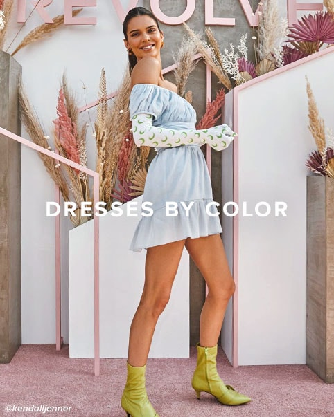 Dresses by Color. Freshen up your festival looks with a pretty palette of nude, pastel & white dresses. Shop the edit.