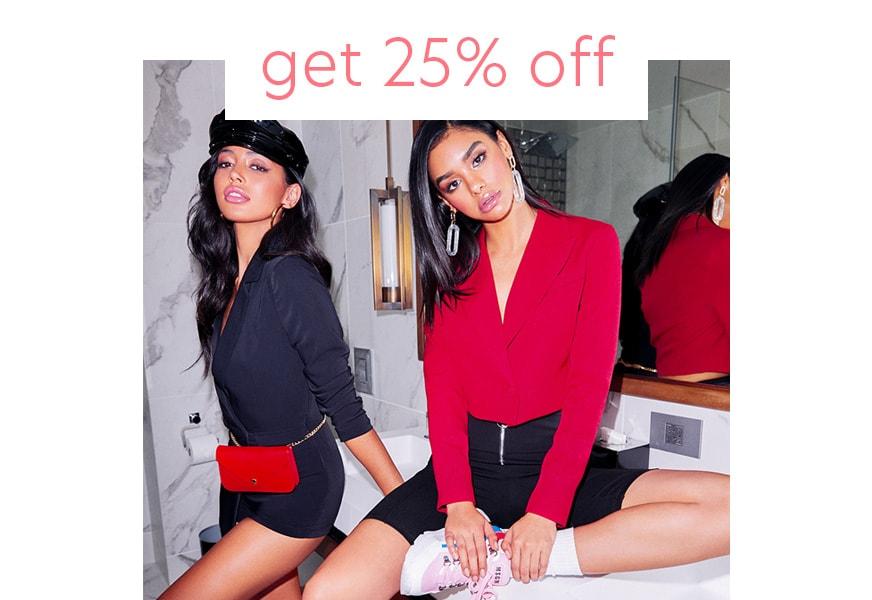 get 25% off