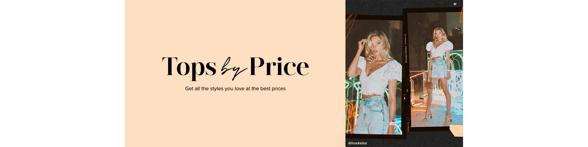 Tops by Price. Get all the styles you love at the best prices. SHOP NOW.