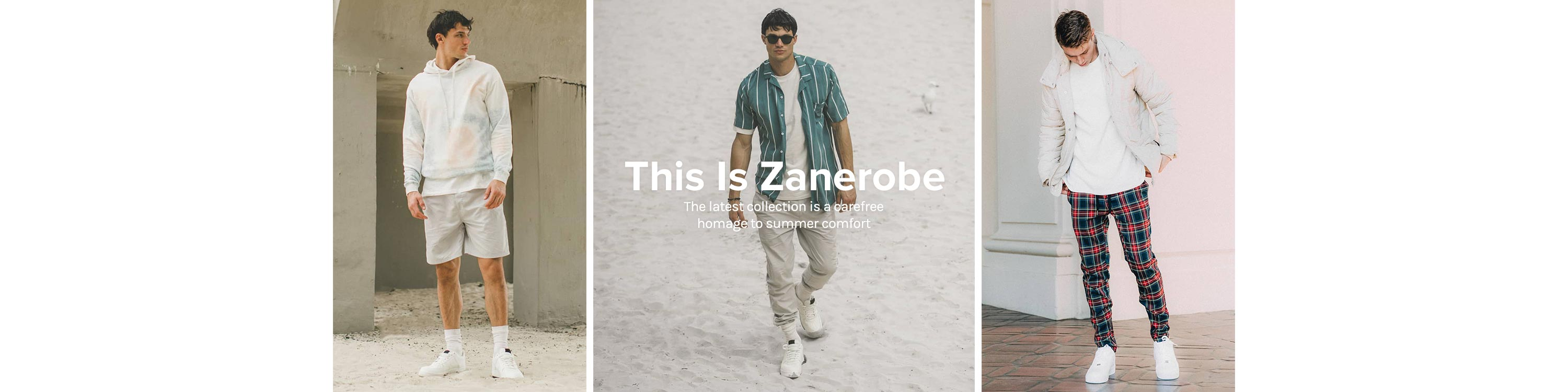 This Is Zanerobe. The latest collection is a carefree homage to summer comfort