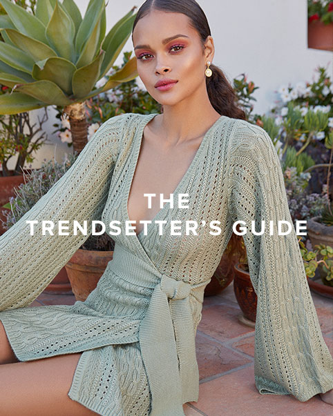 The Trendsetter\u2019s Guide. How to wear the most talked about trends from snake prints, earthy hues & chic dresses that perfectly transition from summer to fall.