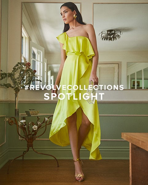 #REVOLVEcollections Spotlight. Featuring whimsical dresses from Alexis to the \u2018It-Girl\u2019 aesthetic of Retrof\u00EAte & RtA, these are the labels to know and love.