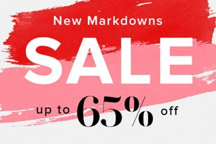 New Markdowns. Sale up to 65% Off
