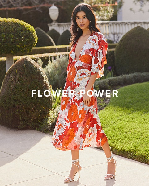 Flower Power. The most perfect floral prints in all your favorite shades to wear through spring & beyond. Shop The Edit