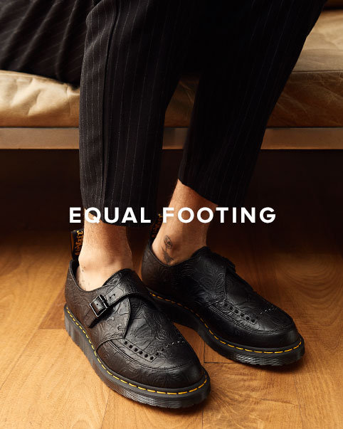 Equal Footing. Step out in the season\'s latest styles.