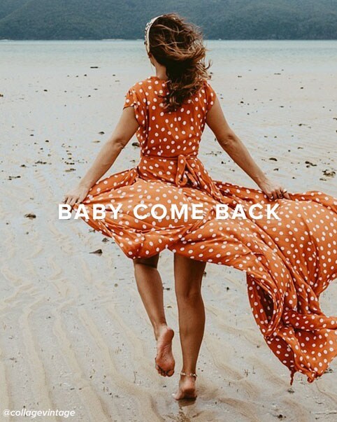Baby Come Back. Shop Back In Stock.