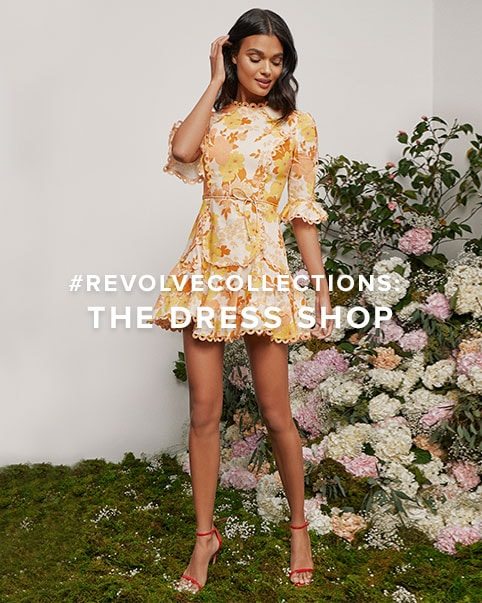 #REVOLVECOLLECTIONS: The Dress Shop. The finest pieces from your favorite designers that are so worth it. Shop the Dress edit.