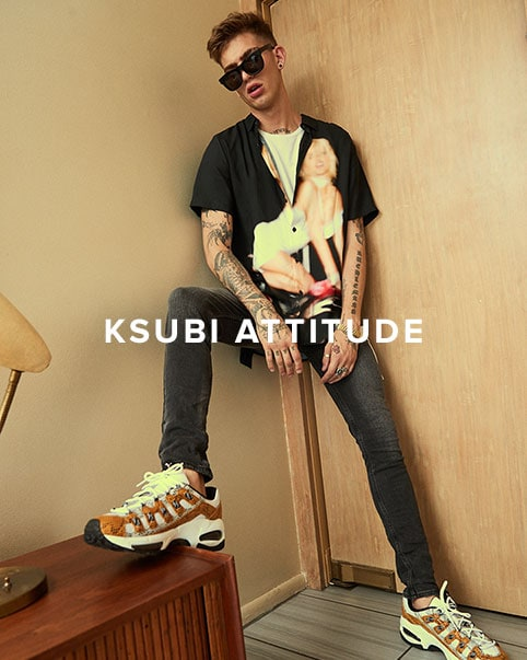 Ksubi Attitude. The alternative Australian label\'s latest collection is a rock n\' roll-inspired offering perfect for summer.
