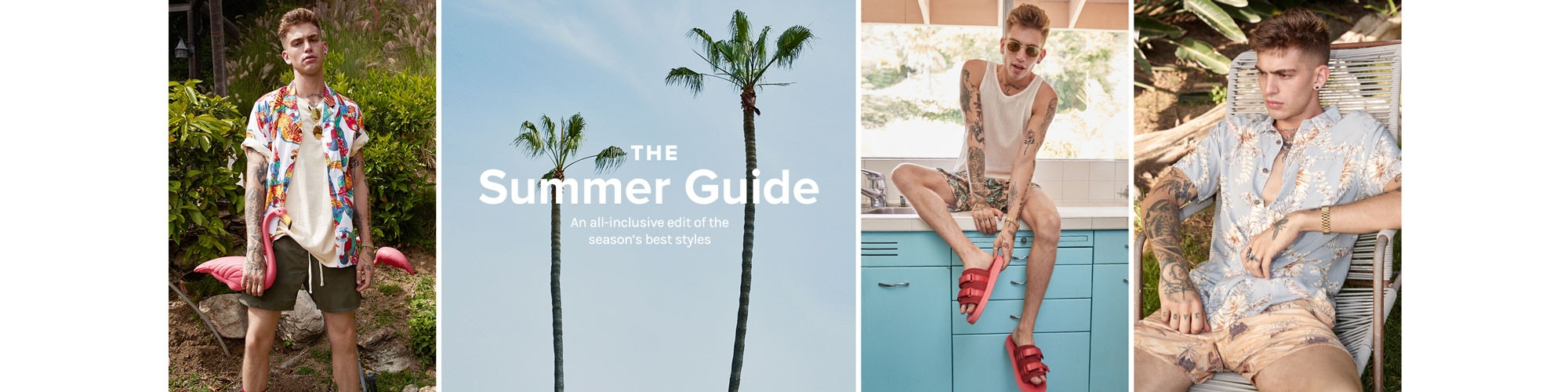 The Summer Guide. An all-inclusive edit of the season\u2019s best styles. Shop summer.