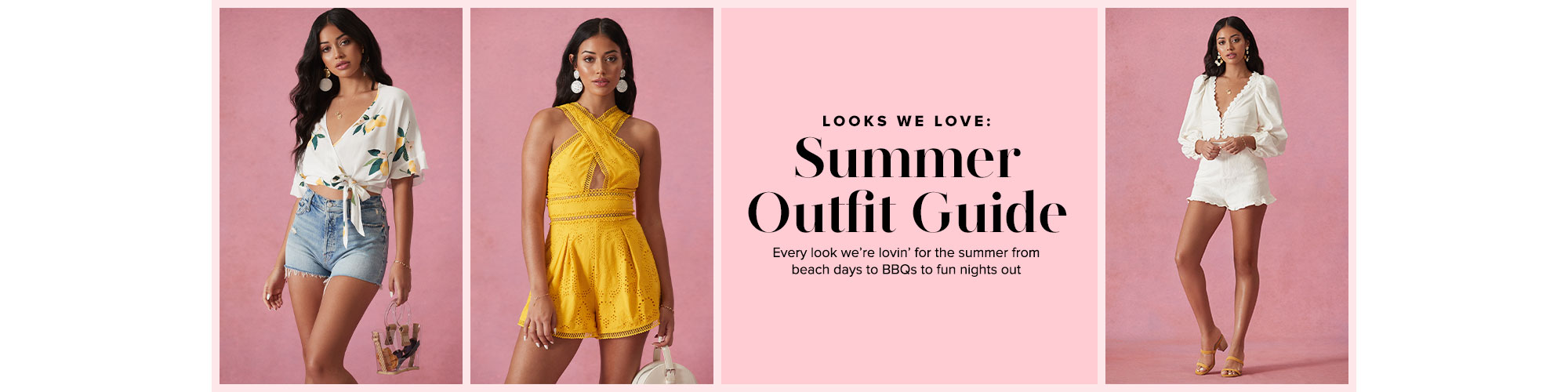 22044797 Looks We Love: Summer Outfit Guide. Every look we\'re lovin\ · Shop The Edit