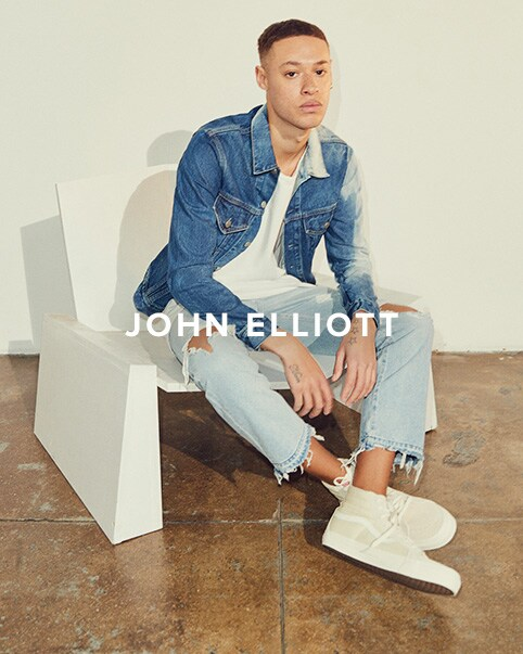 John Elliott. Minimal master John Elliot keeps things simple with his understated collection of modern staples. Shop John Elliott