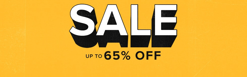 SALE up to 65% off