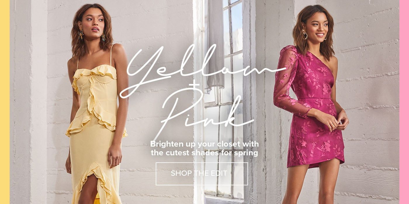 Shop Yellow & Pink