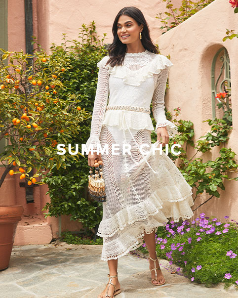 #REVOLVEcollections: Summer Chic. Airy dresses, bold prints & more summer-chic staples from your favorite luxe designers. Shop The Edit.