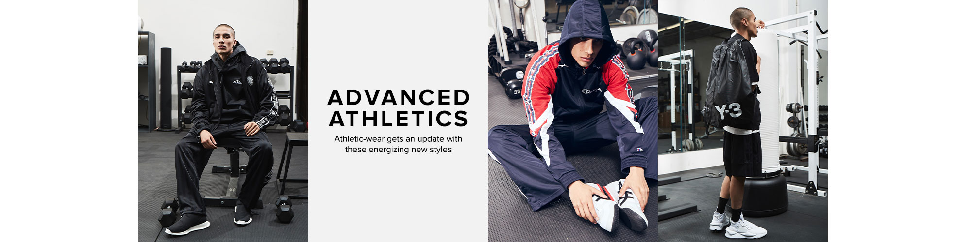 Advanced Athletics. Athletic-wear gets an update with these energizing new styles. Shop Athletics.