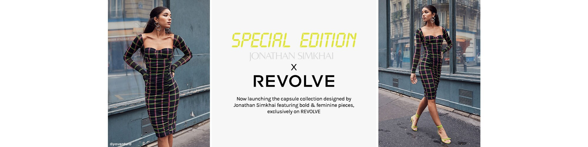 JONATHAN SIMKHAI x REVOLVE. Now launching the capsule collection designed by Jonathan Simkhai featuring bold & feminine pieces, exclusively on REVOLVE. Shop The Collection