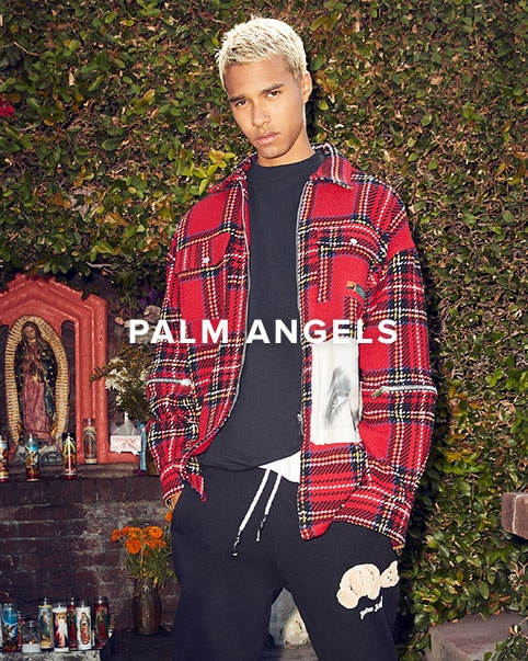 Palm Angels. The new collection continues to explore the eclectic mix of cultures and subgroups residing in Los Angeles.