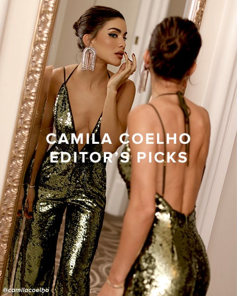 Camila Coelho Editor\u2019s Picks. Sexy statement styles to add to your fall wardrobe - from shiny sequins to chic animal prints