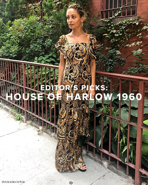 Editor\u2019s Picks: House of Harlow 1960. A chic color palette, rich prints, cozy knits & more faves for fall, xo Nicole. Shop The Collection