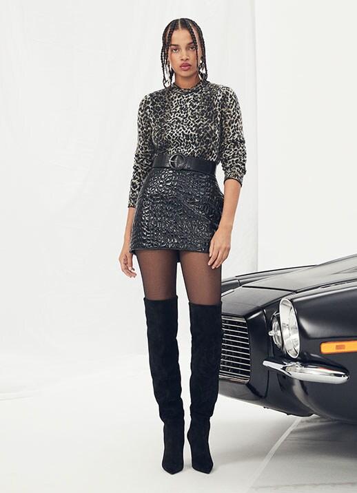 Styling Duo: Knits & Skirts