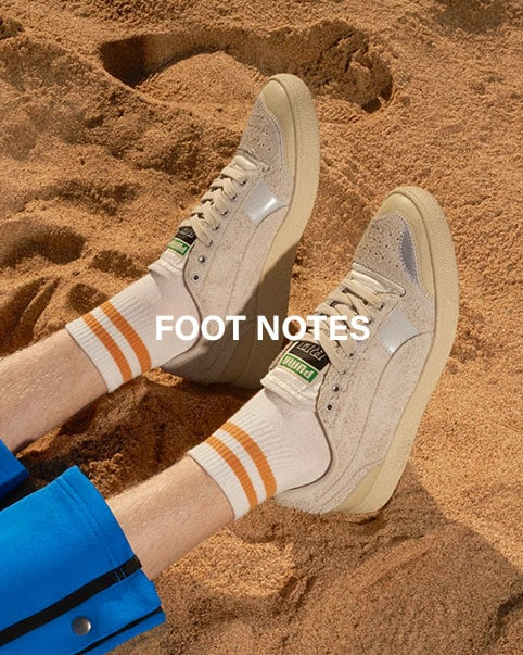 Foot Notes. An update of the latest sneaker arrivals from Rhude, Off-White, Puma Select + more. Shop now.