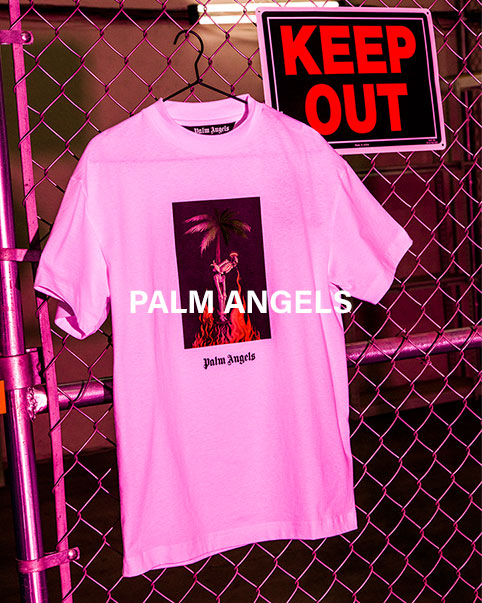 Palm Angels. Vibrant and fresh, Palm Angels latest collection offers an alternative view of California culture. SHOP THE COLLECTION