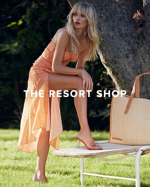 The Resort Shop. Get whisked away with the most vacay-worthy styles from chic swim to effortless dresses.