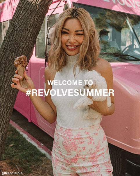 Welcome to #REVOLVEsummer. Summer may look a little different this time around, so our best-dressed babes are sharing how you can sweeten up your style! Shop the Edit