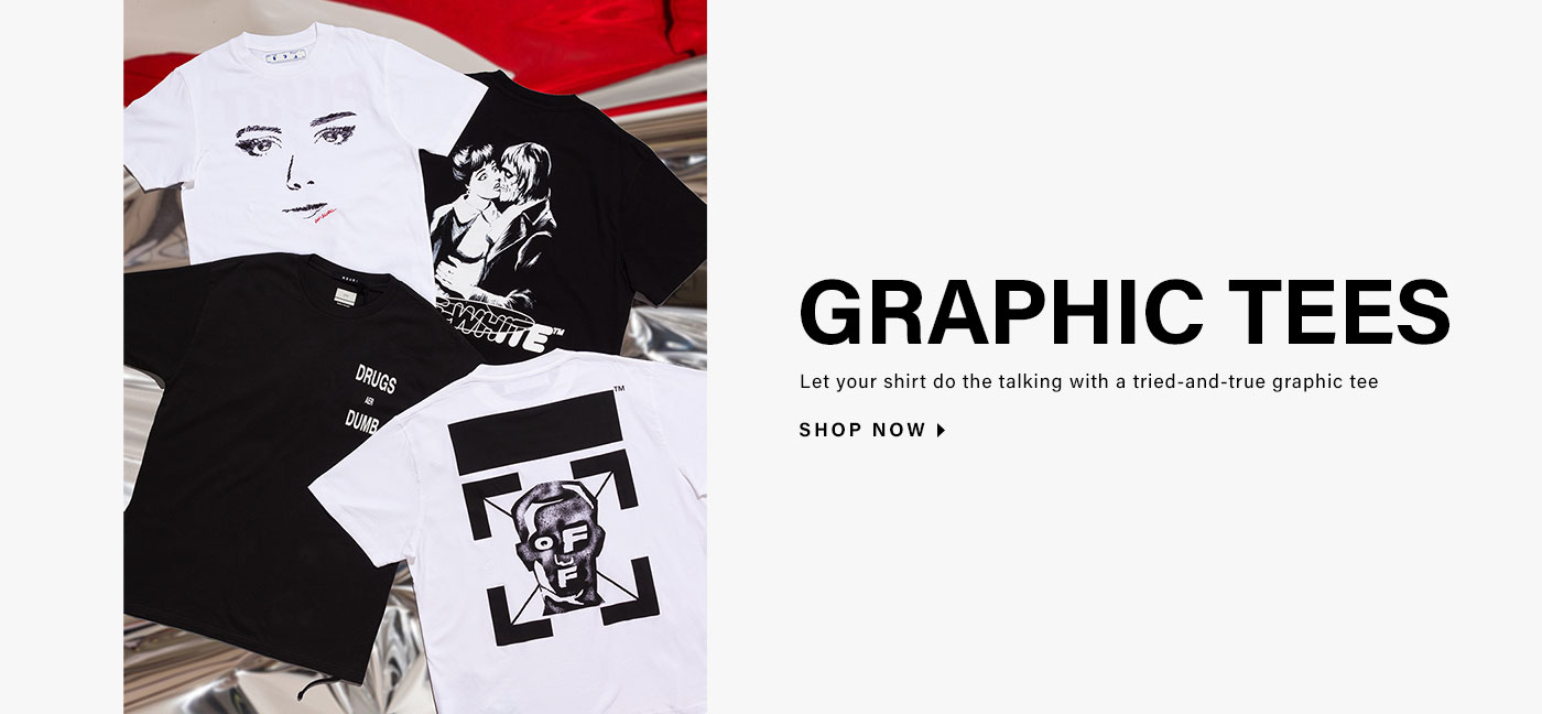 Graphic Tees. Let your shirt do the talking with a tried-and-true graphic tee. Shop now.