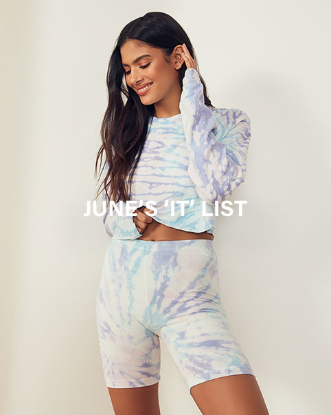 June 'It' List. Our all-time favorite 'fits & pieces you need this month, just in time for summer. Shop the edit.