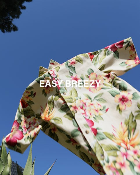 Easy Breezy. Kickstart your spring with these easy-to-wear printed shirts.