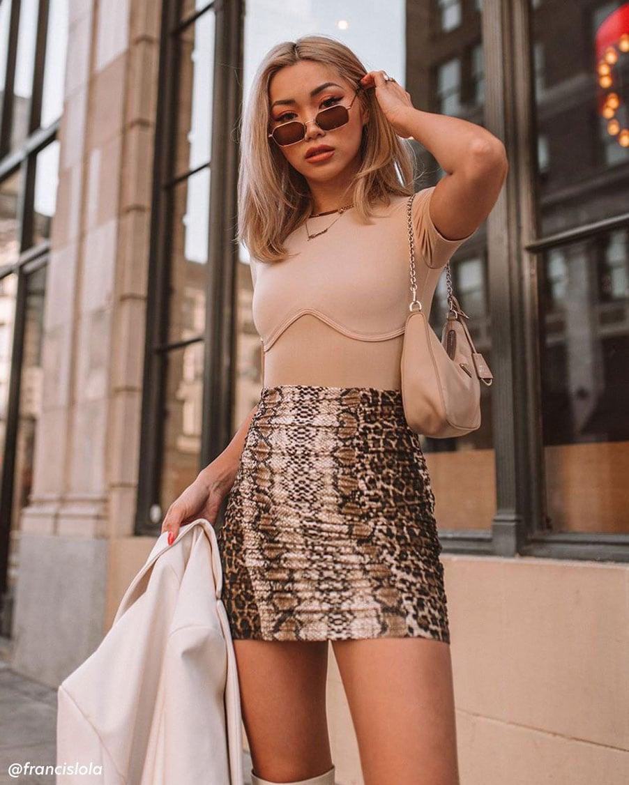feelin' flirty. shop skirts.