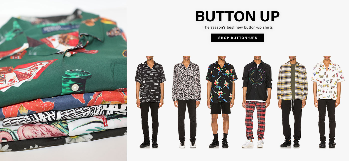 Button Up. The season\'s best new button-up shirts.