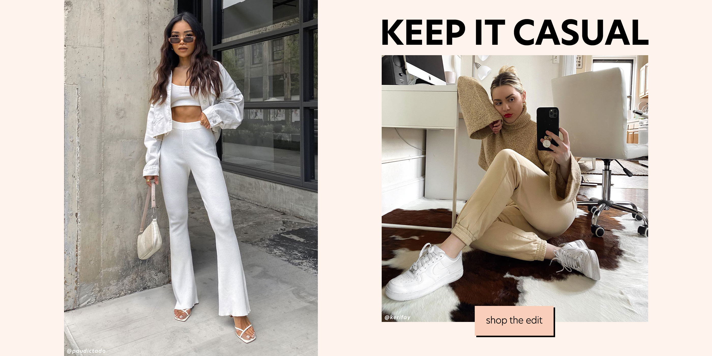 Keep It Casual - Shop the Edit