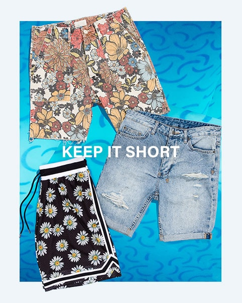 Keep It Short. Start your summer look with these must-have shorts. Shop shorts.