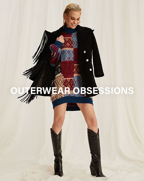 Outerwear Obsessions. Our favorite outerwear trends that you'll want to wear on top of everything this season.