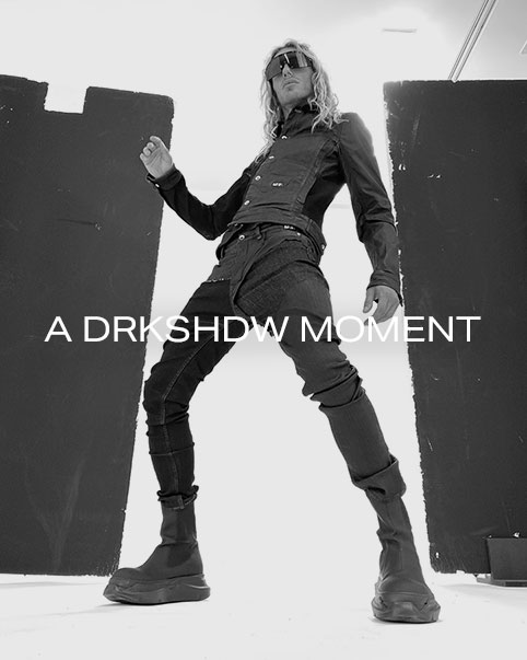 A DRKSHDW Moment. Rick Owens' high-energy DRKSHDW line is an alternative approach to his iconic aesthetic. Shop the collection.