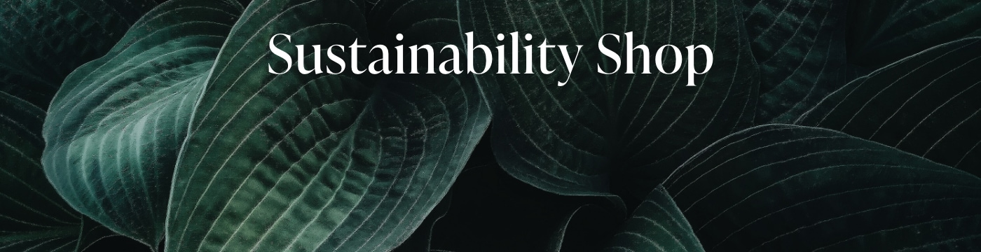 Sustainbility Shop Banner