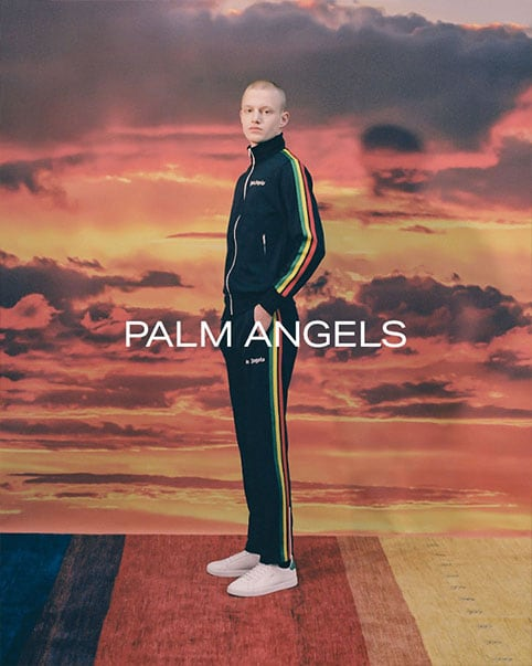 Palm Angels. Familiar Palm Angels motifs are given a fresh array of color and depth in this refreshing spring collection SHOP THE COLLECTION