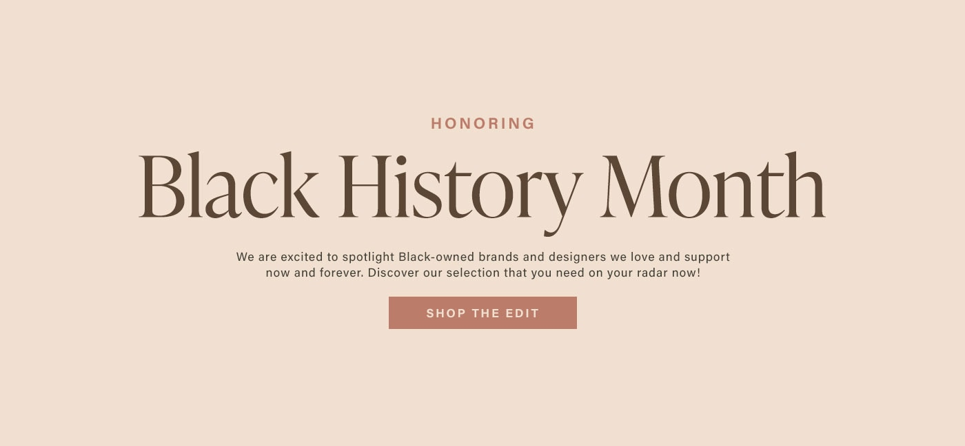 Honoring Black History Month. We a