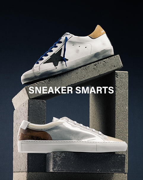 Sneaker Smarts. Take your pick of the best sneakers from Vans, Puma Select, Common Projects + more!
