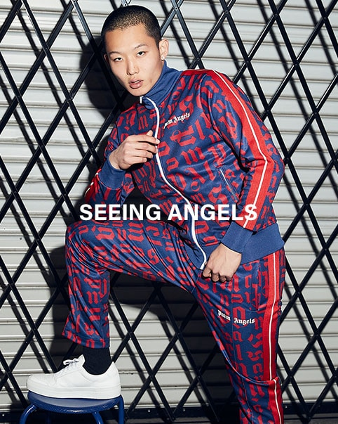 Seeing Angels. Francesco Ragazzi's latest Palm Angels collection is here to lighten up your day