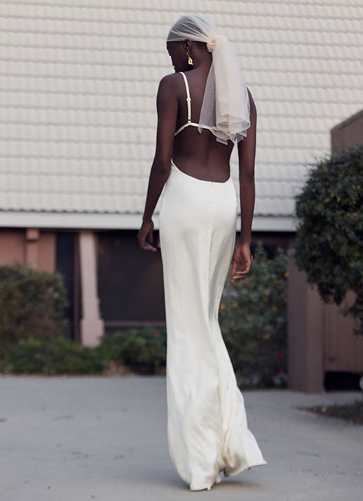 Dramatic White Dresses