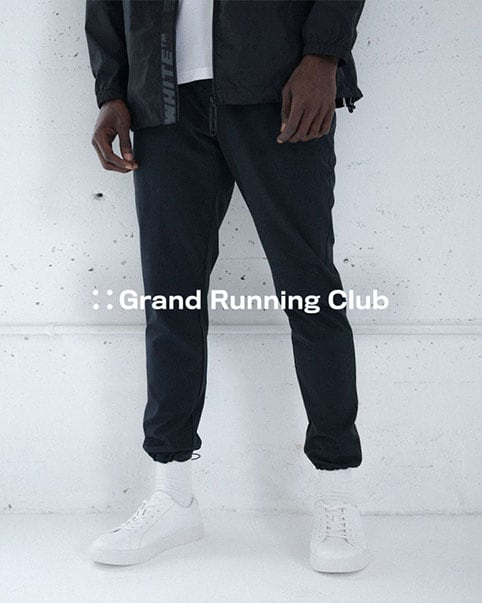 Grand Running Club. High-street design meets high-performance activewear in Grand Running Club's masterful merging of fashion and function. Shop the collection
